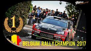 Belgium Rally Champion 2017